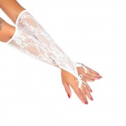Luva Longa Sensual - Pimenta Sexy - Boutique Apimentada (Branco)