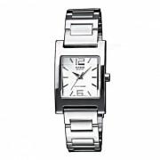 Casio LTP-1283D-7ADF reloj analogico - plata + blanco (sin caja)