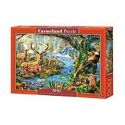 Puzzle Viata in padure, 500 piese
