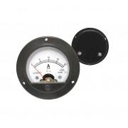 DC Analogový ampérmeter 0-20A kruhový
