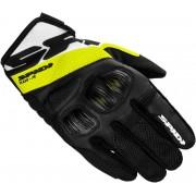Spidi Flash-R Evo Gloves Black Yellow XL