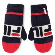 Мъжки ръкавици FILA - Knitted Mittens 686041 Black Iris/True Red/Bright White G06