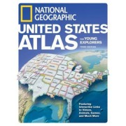 National Geographic United States Atlas for Young Explorers, Hardcover