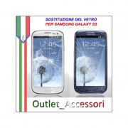 Riparazione Vetro Rotto per Samsung Galaxy S3 NEO I9301 Sostituzione Cambio Glass Schermo