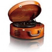 Lenco USB gramofon Lenco TT-34, řemínkový pohon, dřevo