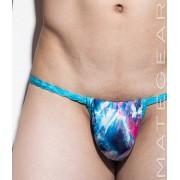 Mategear Hae Sang I Seamless Xpression Series Mini Active Bikini Swimwear Blue Abstract 1250403