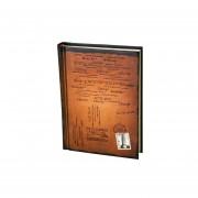 Pixnor Estilo Retro Hardcover Cuaderno Del Diario Diario Bloc De Notas - Tamaño S (naranja)