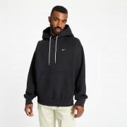 NikeLab Hooded Long Sleeve Top Black/ White