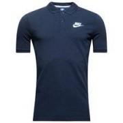Nike Piké NSW - Navy/Vit