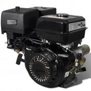 vidaXL Silnik benzynowy 15 KM, 9.6 kW, czarny