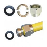 GD023 Převlečná matice DN20 na plyn vč. kroužku a těsnění