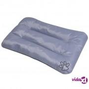 vidaXL Jastuk za pse veličina XL sivi