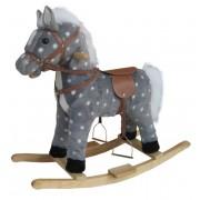 Качалка Лошадь в яблоках 62 см 611036
