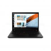 Laptop Lenovo ThinkPad T14 Gen 1 14 inch FHD Intel Core i5-10210U 8GB DDR4 256GB SSD FPR Windows 10 Pro Black