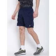 Reebok Men Polyester Navy Workout Sports Shorts