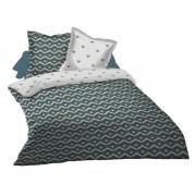 CONFORAMA Parure housse de couette 240x260 cm + 2 taies d'oreiller OSLO