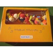 Mobile Musical Animaux Multicolore Babysun