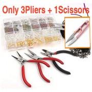 4in1 3PLIERS +1 Scissors FIT JEWELLRY ACCESSORIESJEWELLERY MAKING PLIERS