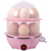 VISHWANTHA fresh Double Layer Electric Egg Boiler, Cooker, Poacher and Milk Boiler egg cooker Double Layer Egg Cooker (14 Eggs) egg cooker Double Layer Egg Cooker (14 Eggs) Egg Cooker (Multicolor, 14 Eggs) duble layer egg boiler Egg Cooker(Pink, Clear, 14