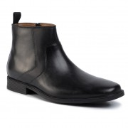 Обувки CLARKS - Tilden Up 261468037 Black Leather