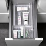 Set 5 organizatoare cosmetice, accesorii baie