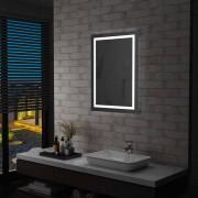 vidaXL LED огледало за баня със сензор за допир, 60x80 см