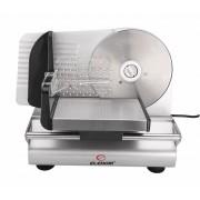 Уред за рязане Elekom EK-8808, подходящ за нарязване на колбаси, месо, сирена, хляб, мощност 100 W