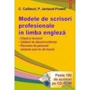 Modele de scrisori profesionale in limba engleza + CD-rom - Cx. Caillaud P. Janiaud-Powell