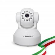 Foscam FI9816P IP Wireless HD 720P colore bianco ottica 1/4 2.8 mm 75°