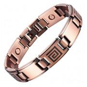CH Bracelet magnétique cuivre vintage Zyrkus avec aimants