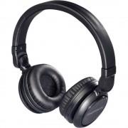Thomson WHP-6007 B Bluetooth® on ear slušalice na ušima slušalice s mikrofonom, kontrola glasnoće crna