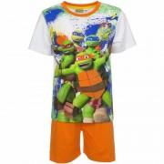 Ninja Turtles Pyjama met oranje korte broek Ninja Turtles