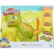 Детски комплект с пластелин - Play Doh - Динозавър Рекс, 0330628