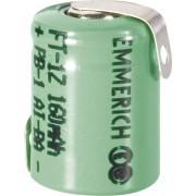 Acumulator NiMH cu urechi de lipire Z, 1/3 AAA, 1,2 V, 160 mAh, Emmerich