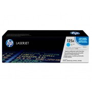 HP Cartucho de tóner Original LaserJet HP 125A Cian para HP Color LaserJet CP1215 , CP1515n, HP Color LaserJet CM1312 , CM1312nfi