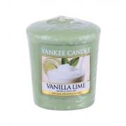 Yankee Candle Vanilla Lime vonná svíčka 49 g