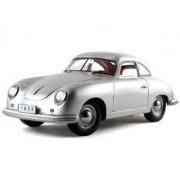 1950 Porsche 356 Coupe Silver 1/18 Diecast Model