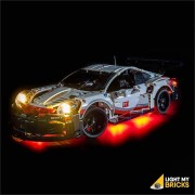 LIGHT MY BRICKS Kit for 42096 PORSCHE 911 RSR