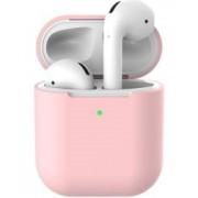 Apple AirPods Flexibel Zacht Siliconen Hoesje Roze