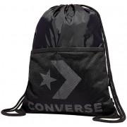 Converse Bag Cinch Black / metalic de Silver