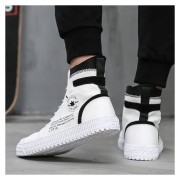 Hombre Zapatos Casual De Correr Fashion-cool-Blanco