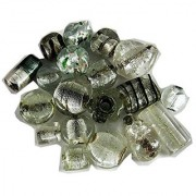Asianhobbycrafts Loose glass beads for jewelery making and home decoration 300gm for home decor and jewellery making.