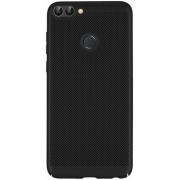 Protectie spate Senno Rock Slim Air Plastic pentru Huawei P Smart (Negru)