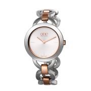 ONE Relógio Mood Prateado e Ouro Rosa - OL9AELSR72A