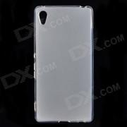 Simple proteccion trasera TPU para Sony Xperia Z4 - blanco translucido