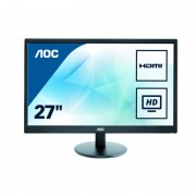 """Monitor AOC E2775SJ, 27"""", HDMI, D-SUB, DVI, VESA, Speakers, Black"""