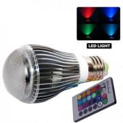 Farebná Led žiarovka 16 farieb 9 wattov