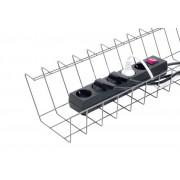 JM Cable Basket Tray Maxi. Kabelkorg Silver. Bulkpack