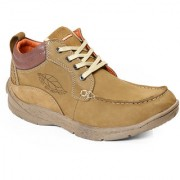 Red Chief Camal Brown Men Low Ankle Outdoor Casual Leather Shoes (RC3078 004)
