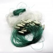 25m Blanco Verde Claro monofilamento de peces de pesca deportiva de compensación neta Gill 25x1.2m